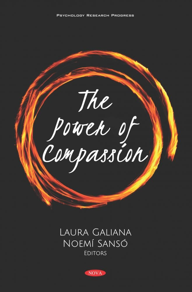 Cover of the newly published book The Power of Compassion, my colleagues and I wrote Chapter Seven
